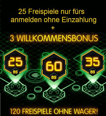 Onlinecasino Bonus 461461