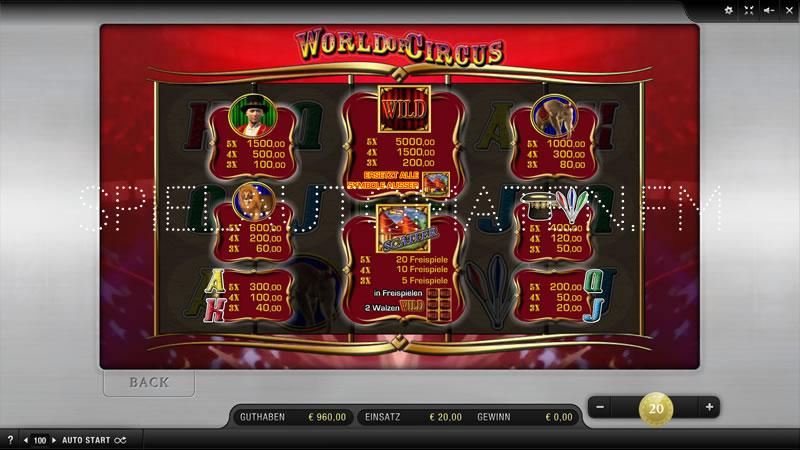 Casino Bonus 60799