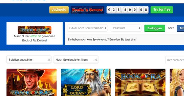 Online Casinos mit 943289