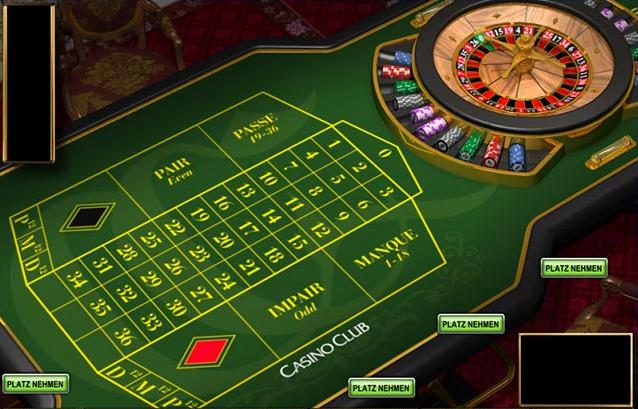 Französisch Roulette Tisch 460519