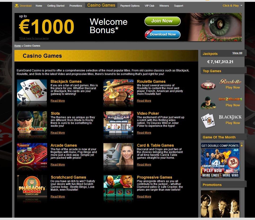 Eurogrand Casino Bonus 962159