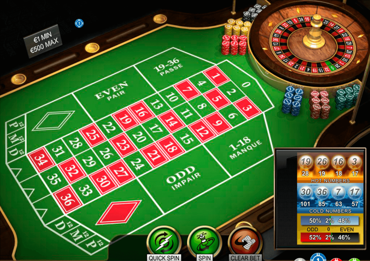 American Roulette 97249