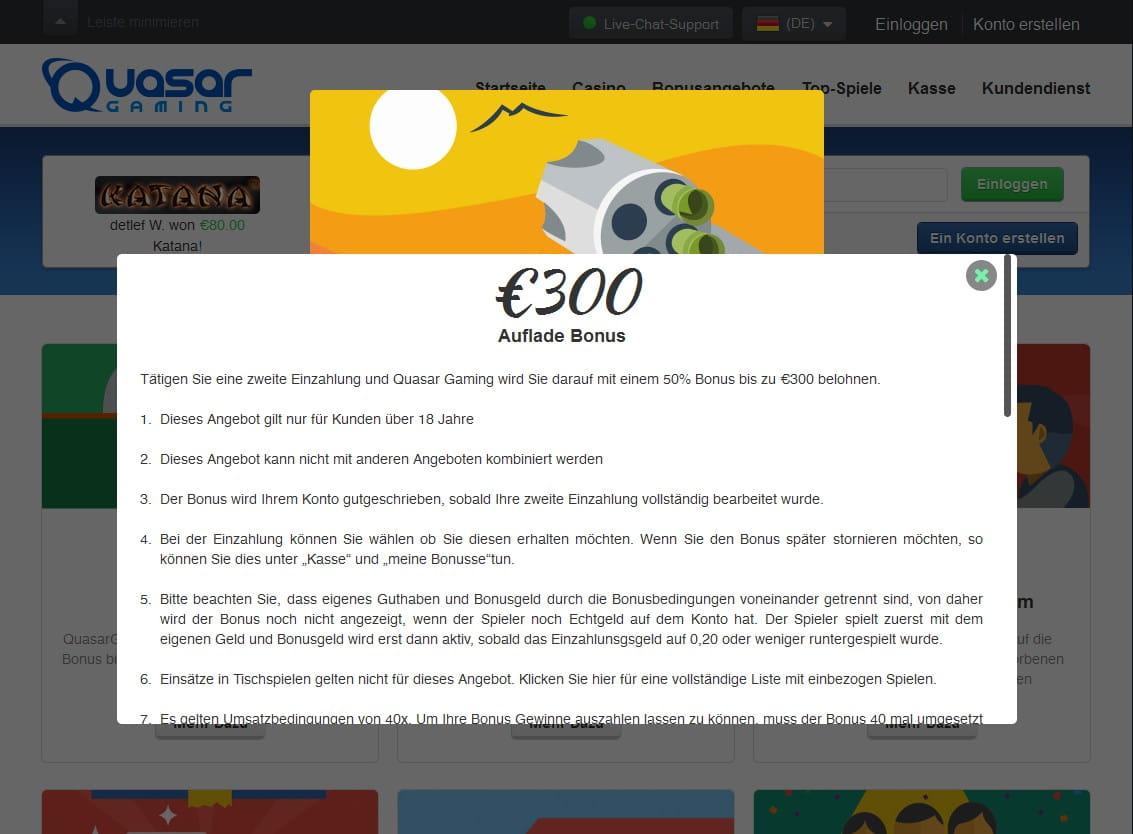 Bonus bet 610306