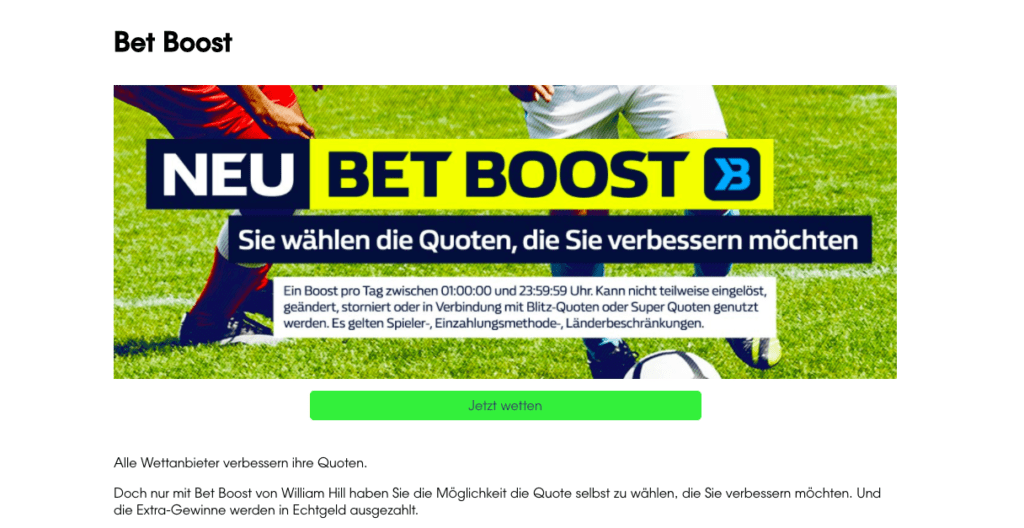 William Hill Fussball 65516