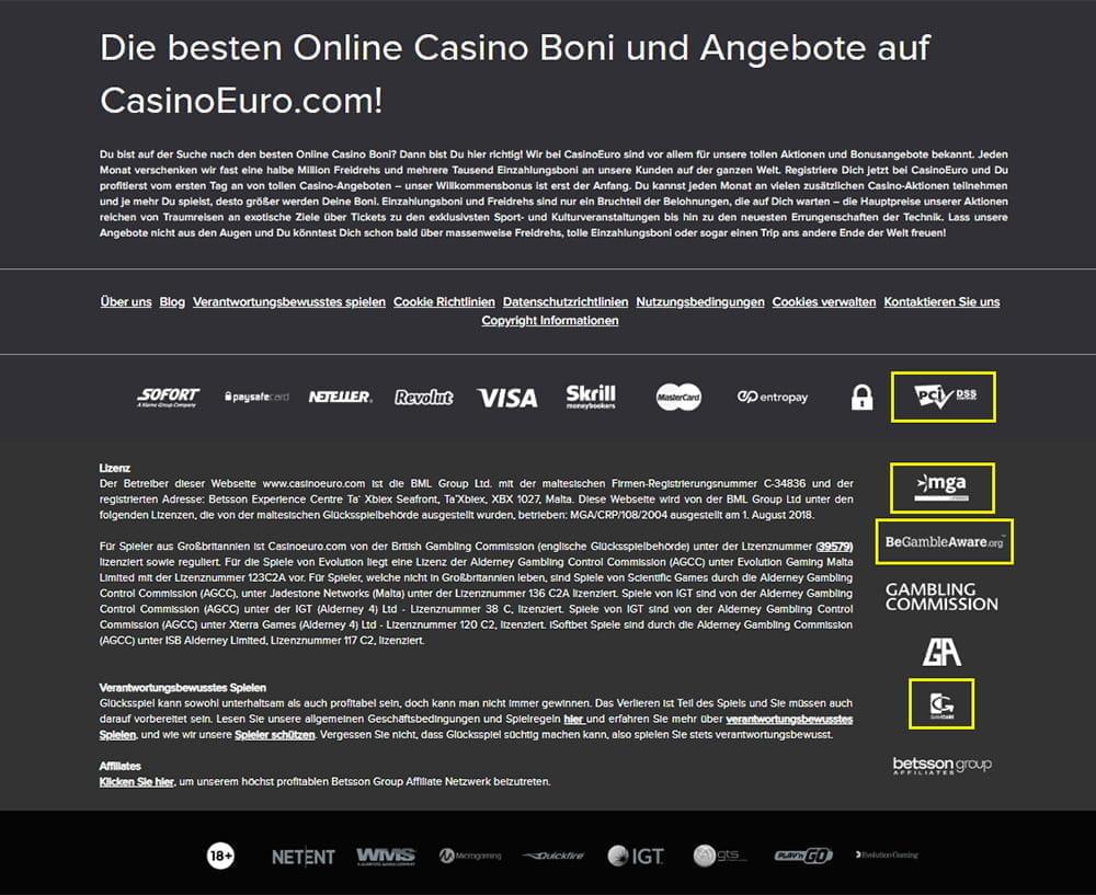 Casino euro 564957