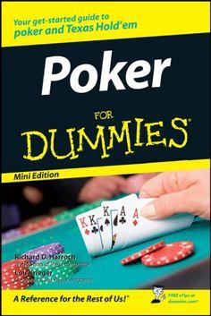Poker For Dummies 548327