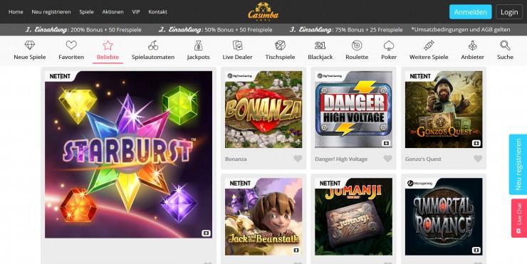 Casimba Casino 441370