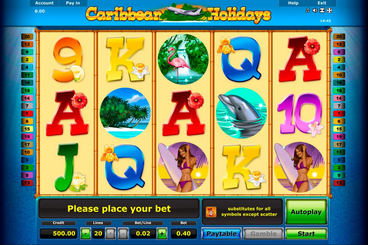 Merkur spielen Caribbean 551309