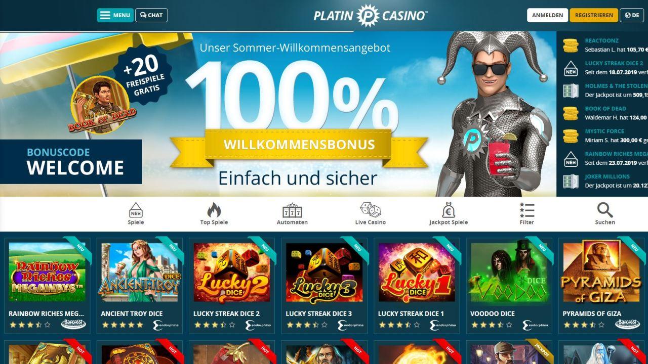 Seriöses online Casino 96740