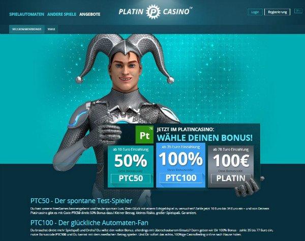 Platin Casino online 480230