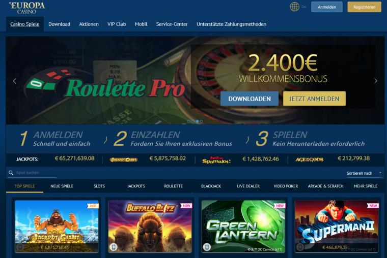Europa Casino app 704692
