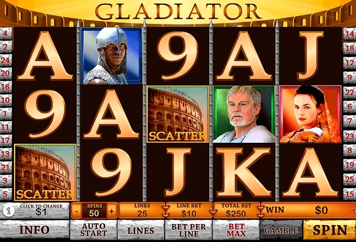Gladiators online CasinoFantasia 655916