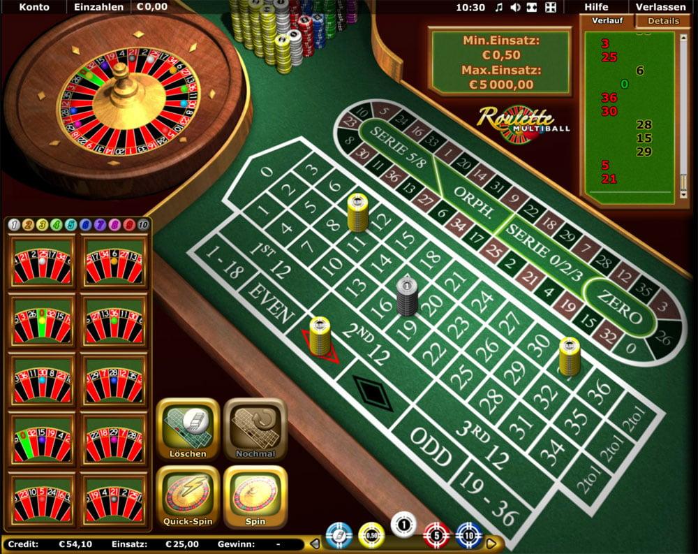 Multiball Roulette 28031