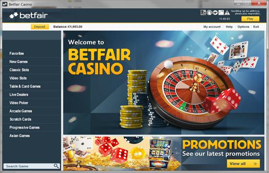 Betfair Arcade 499475