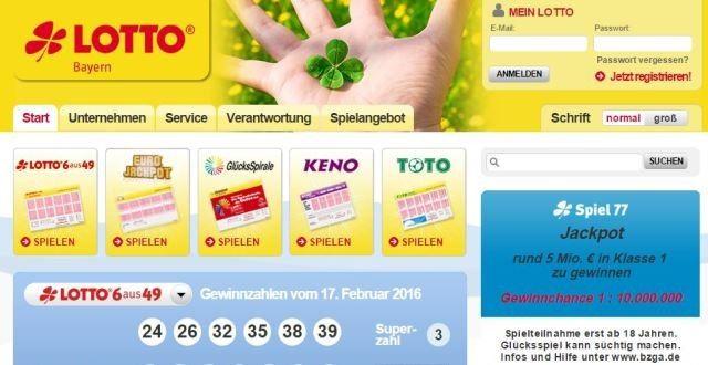 Millionen Lotto 288439