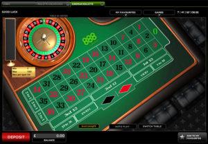 Black Jack Tabelle 613092