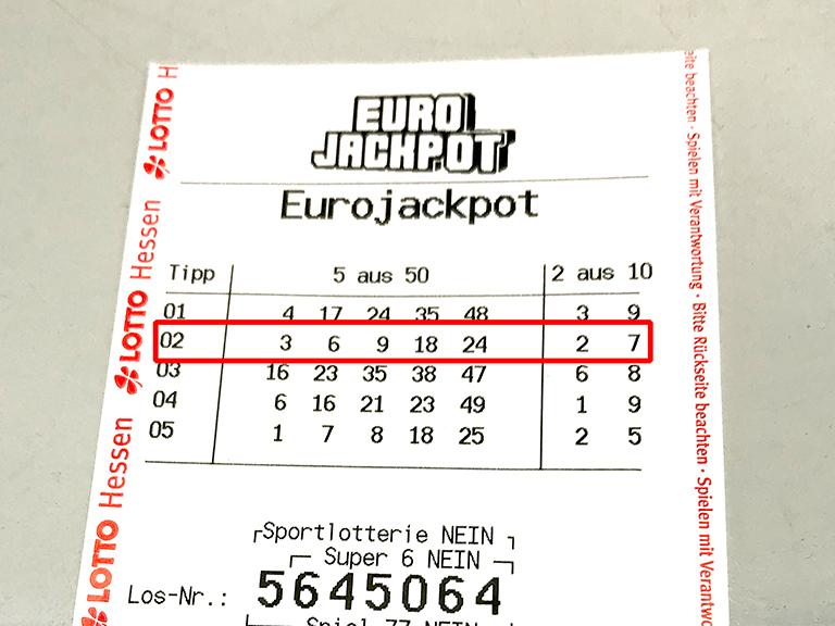 Eurojackpot Gewinner 116180