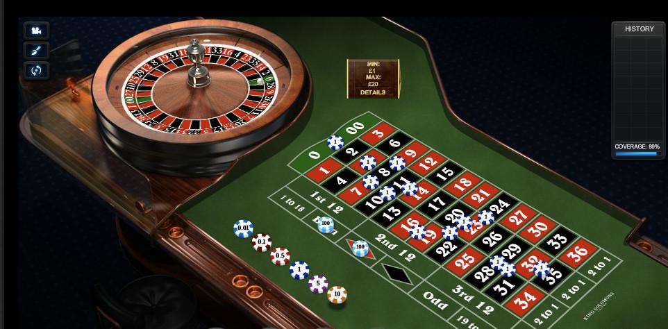 Europäisches Roulette 730722