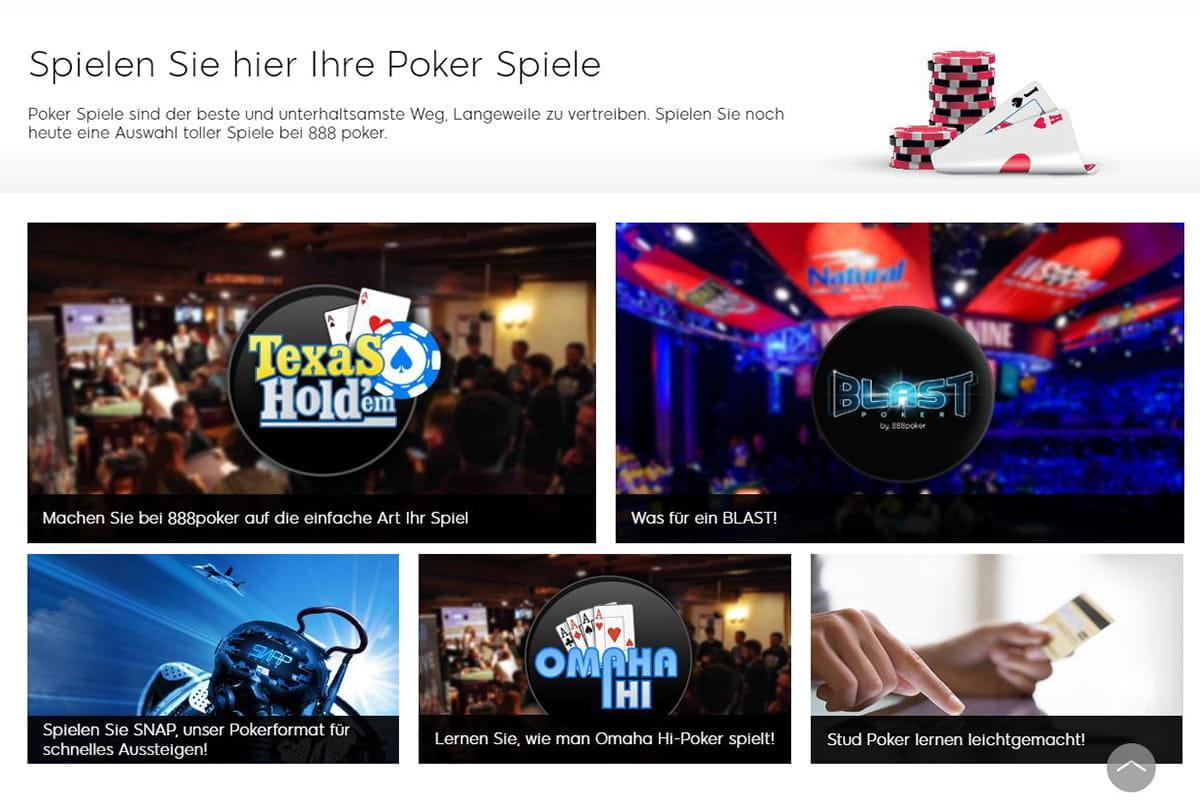Poker Turnier Modus 51114