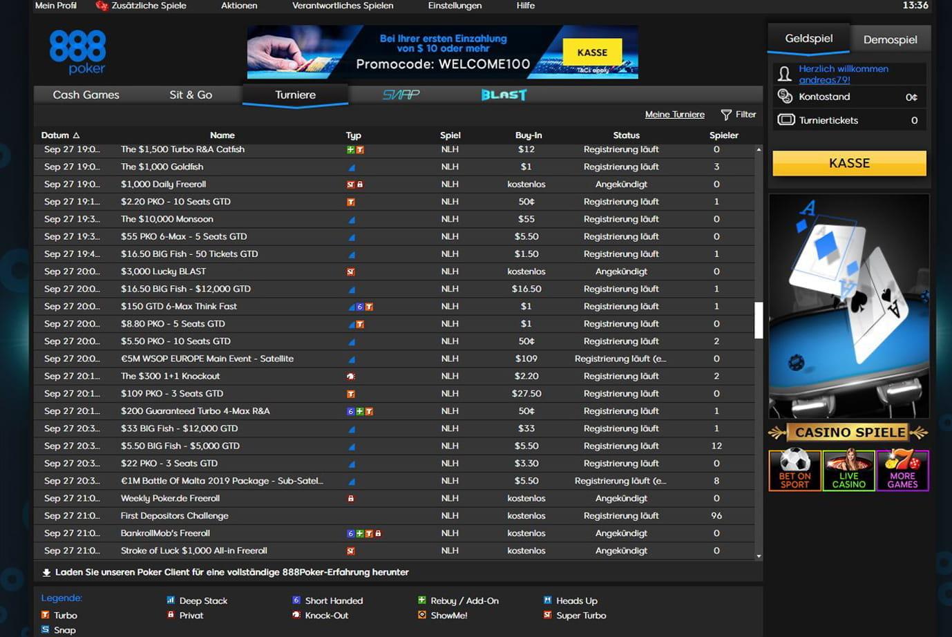 Poker Turnier Modus 475568