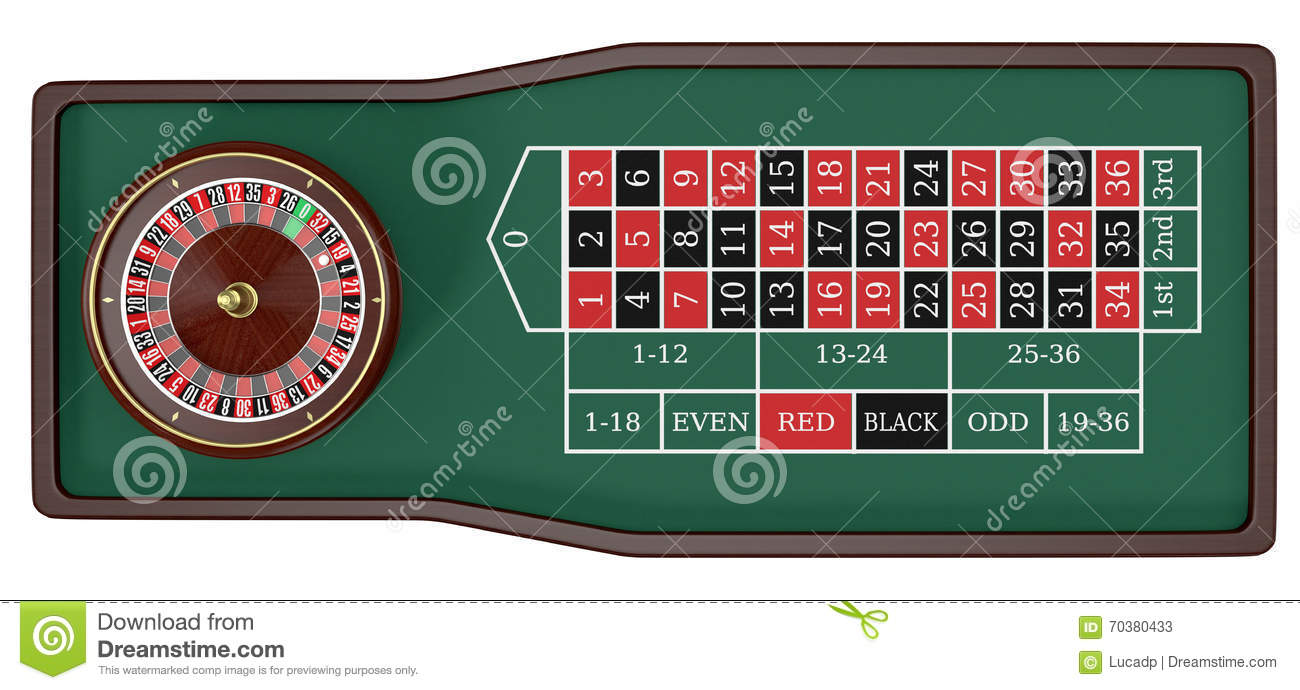 Roulette Rot 131234