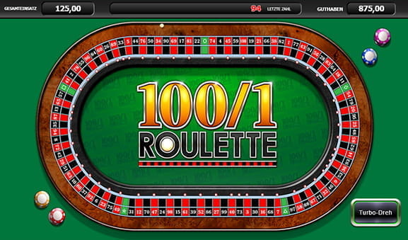 Roulette Schnelles Spiel 425102