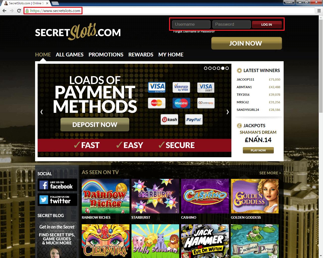 Slots Login Bonus 25226