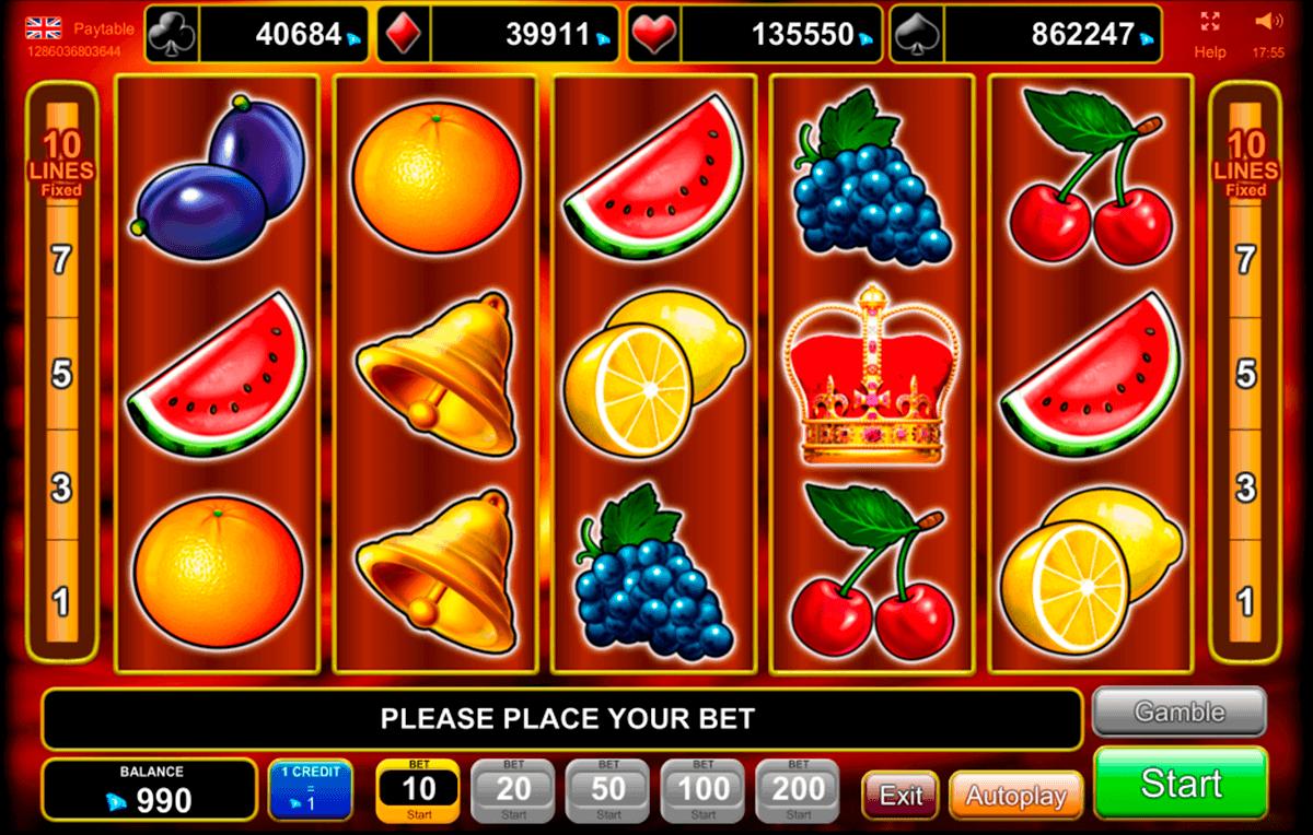 Spielautomaten Bonus 135562